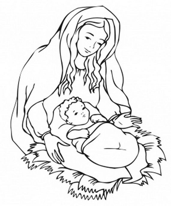 The Assumption Of Blessed Virgin Mary Glorious Mysteries Of The Rosary Coloring Pages Jesus Coloring Pages Nativity Coloring Pages Printable Christmas Coloring Pages