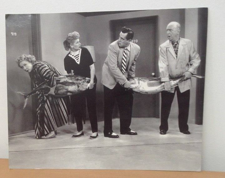 Remember the Fish Episode of I Love Lucy?