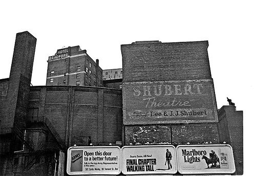 Theater homage, Shubert Theater, Boston, MA