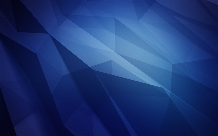 Download Wallpapers Shapes Geometric Geometry Polygons Blue Background Besthqwallpapers Com Abstract Pattern Design Blue Backgrounds Abstract Artwork