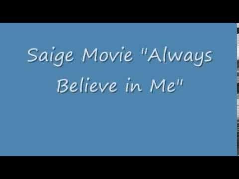 American Girl Saige Always Believe In Me Chords Chordify It