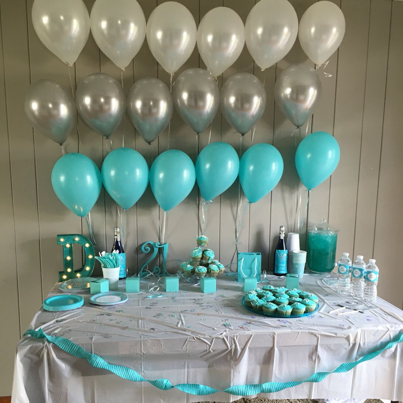 My Tiffany Co Design For Daughters 21st Birthday Blue Parties Barbie