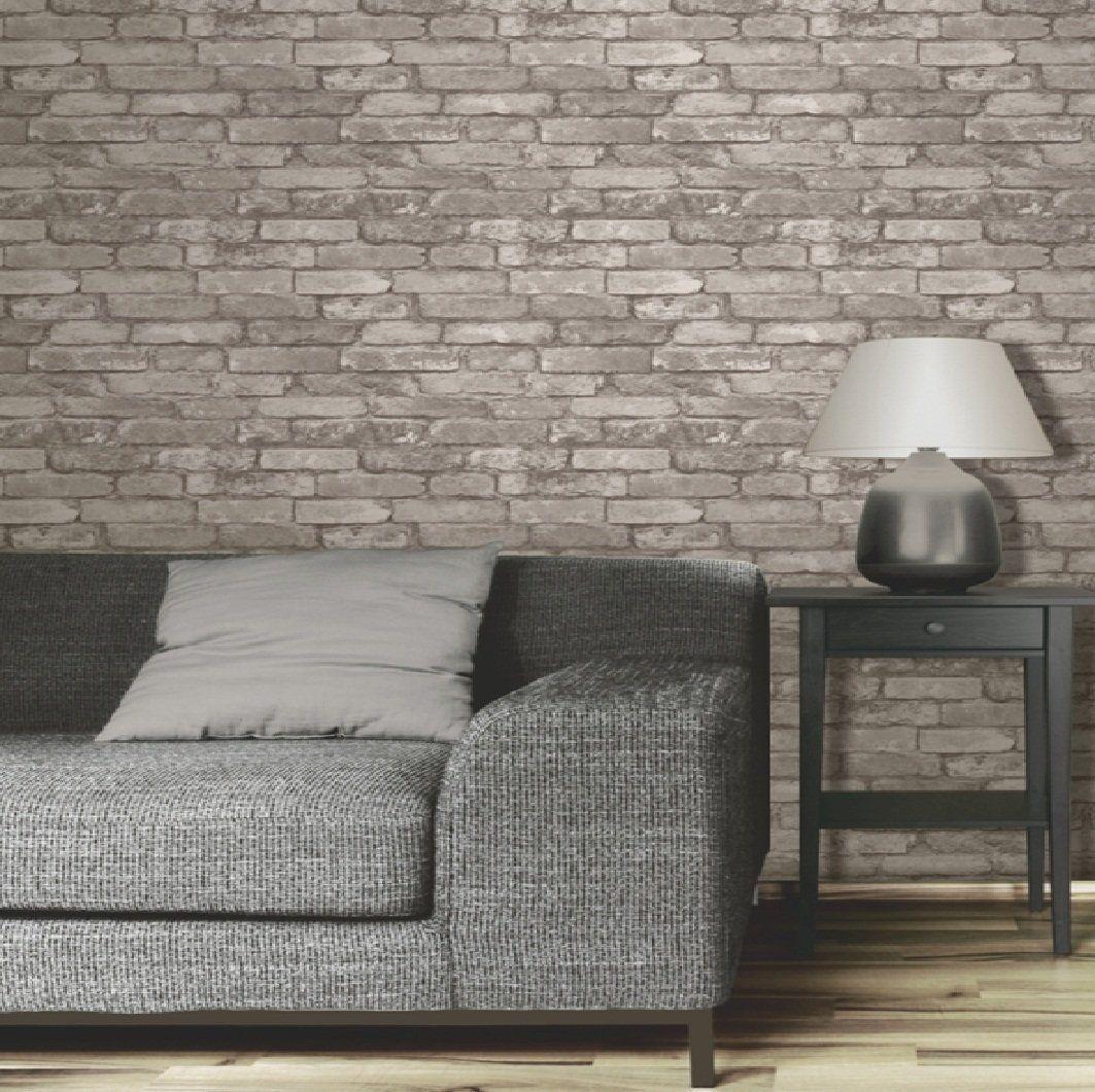 Fine Decor Silver Grey Realistic Fd31286