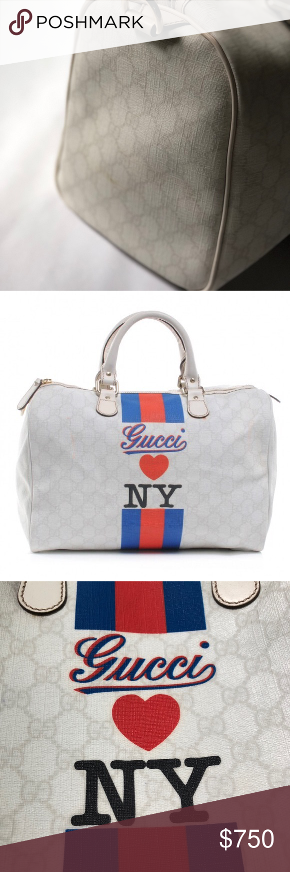 588f80bc2f GUCCI Loves New York Limited Edition Bag 100% Authentic GUCCI Loves New York  bag.