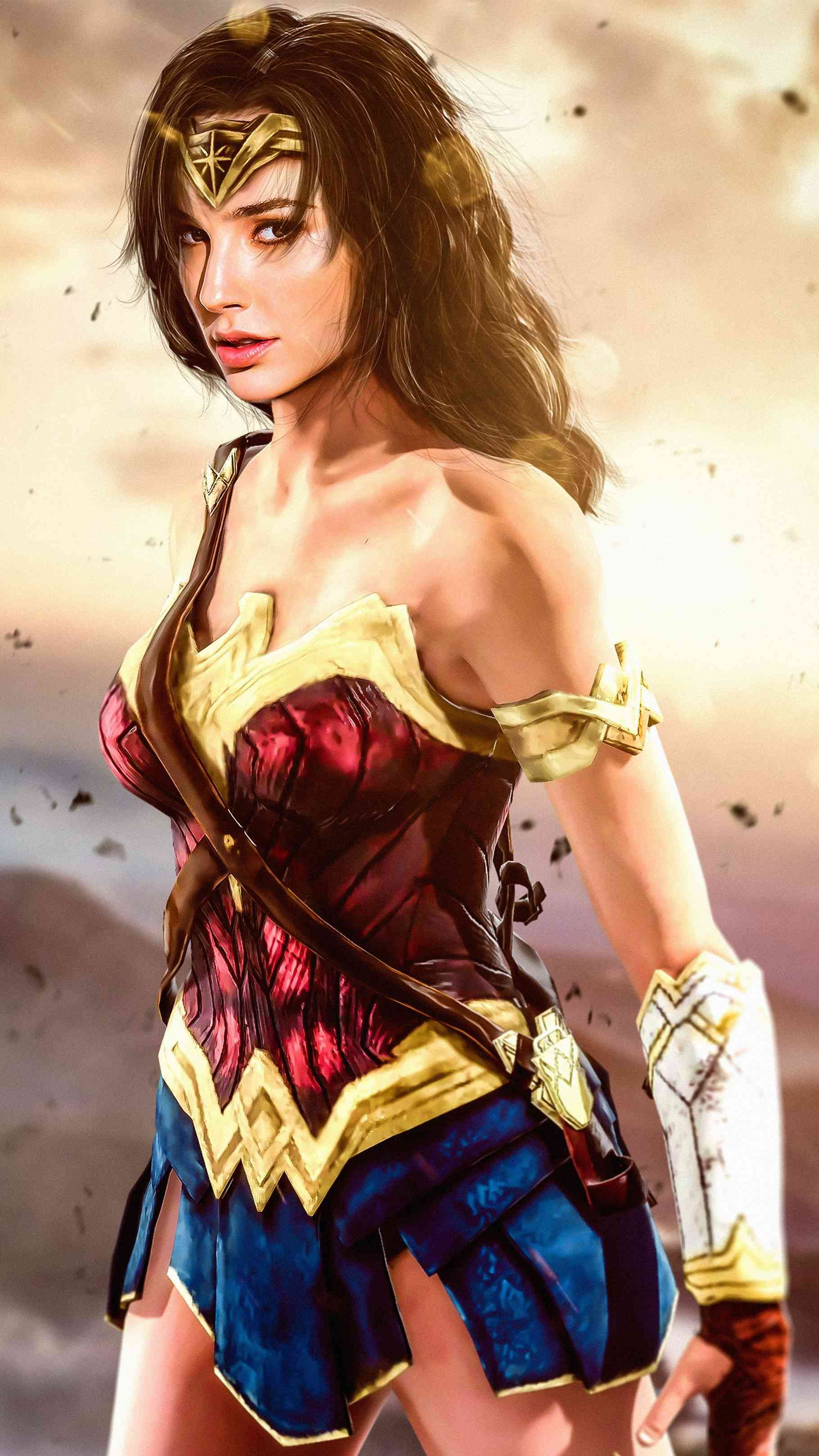 Wonder Woman Hd Wallpaper Wonder Woman Wonder Woman Art Gal Gadot Wonder Woman