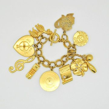 Amarcord Vintage Fashion: '80s Charm Bracelet, at 36% off!