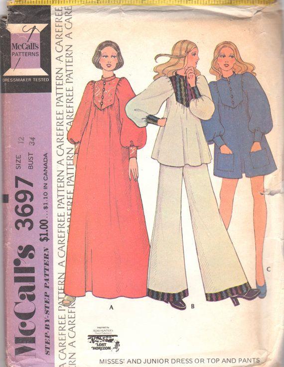 1970s McCall's 3697