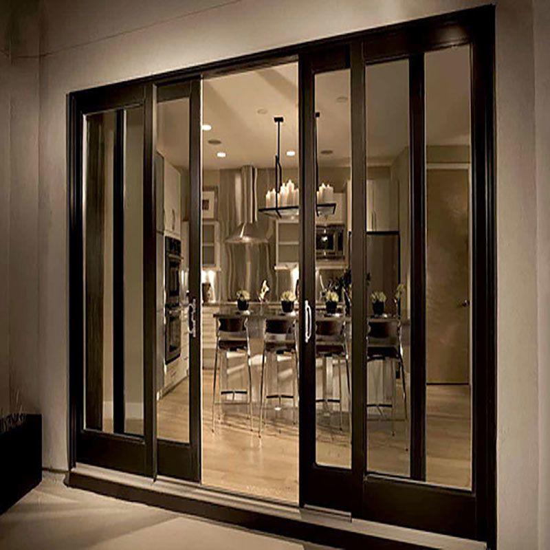 Pin By Norma Beian On Cabin In 2020 Sliding Wood Doors Door Glass Design Sliding Door Design