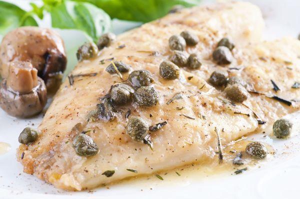 Fish Recipe: Pan-Seared Halibut with Lemon Sauce - 12 Tomatoes