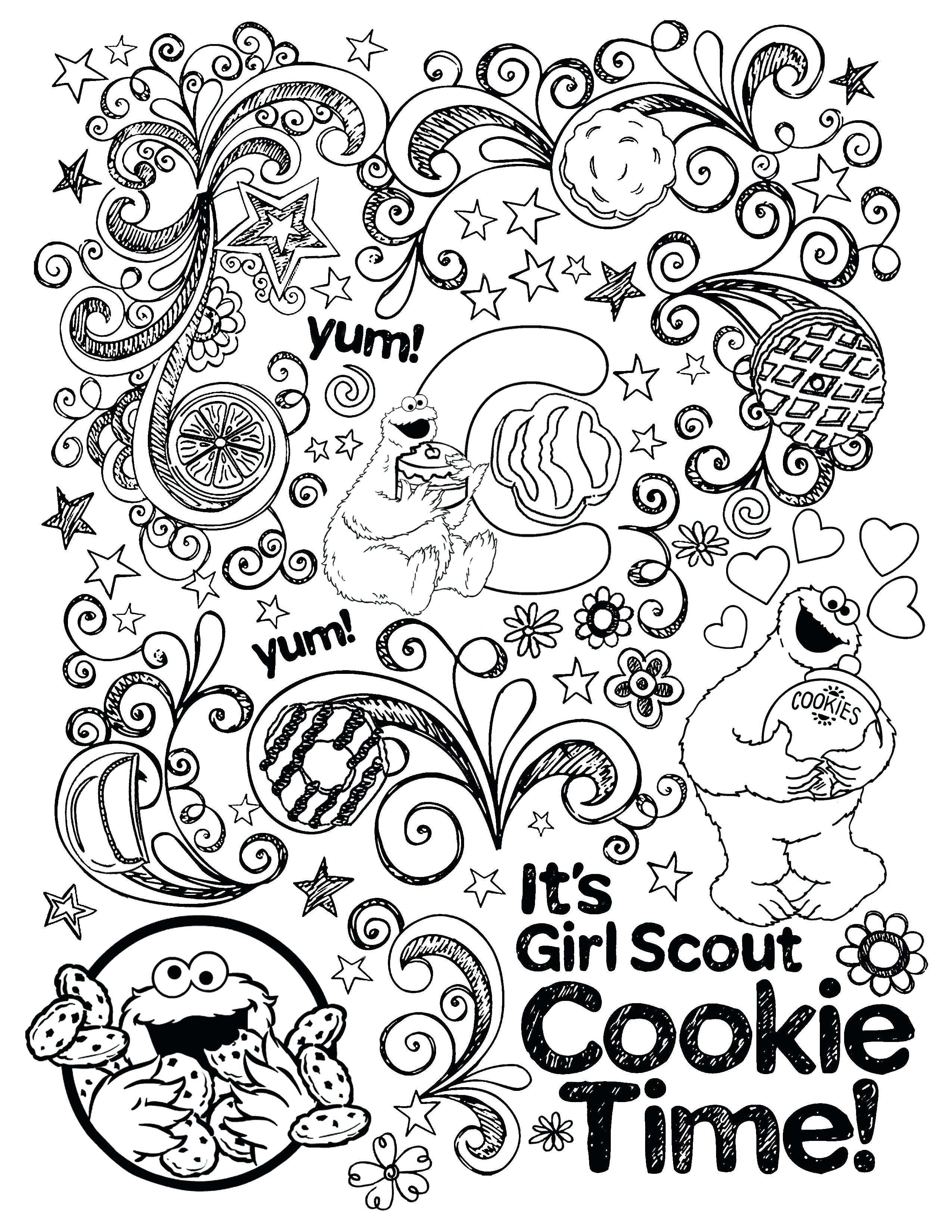 30 Fresh Girl Scout Coloring Pages In