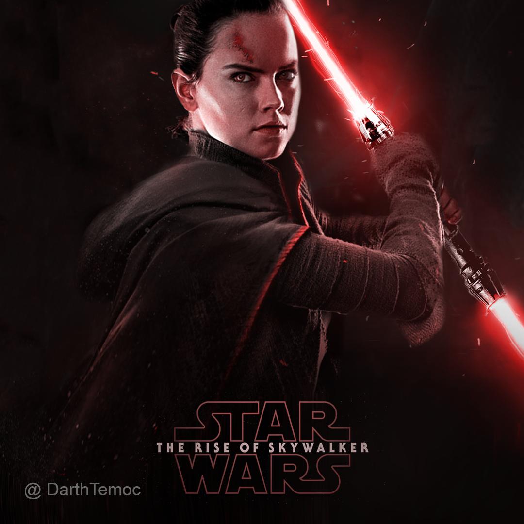 Dark Rey The Rise Of Skywalker By Darthtemoc On Deviantart Rey Star Wars Star Wars Poster Star Wars Pictures