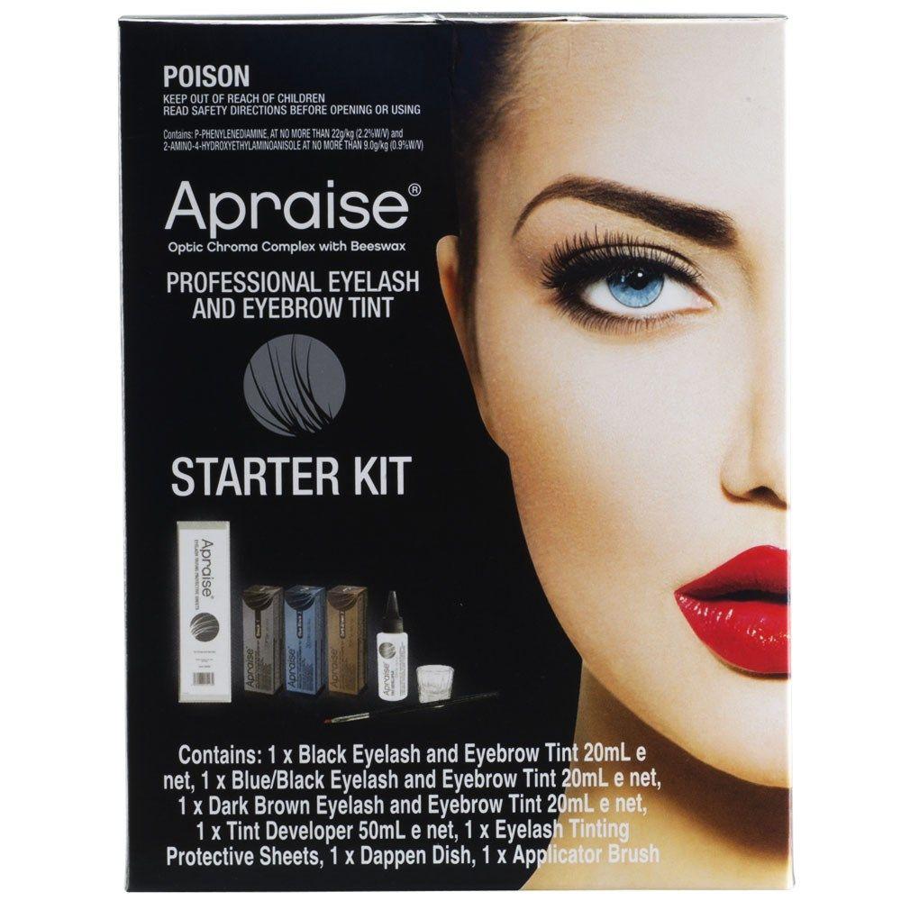The Apraise Professional Eyelash and Eyebrow Tint Starter Kit ...