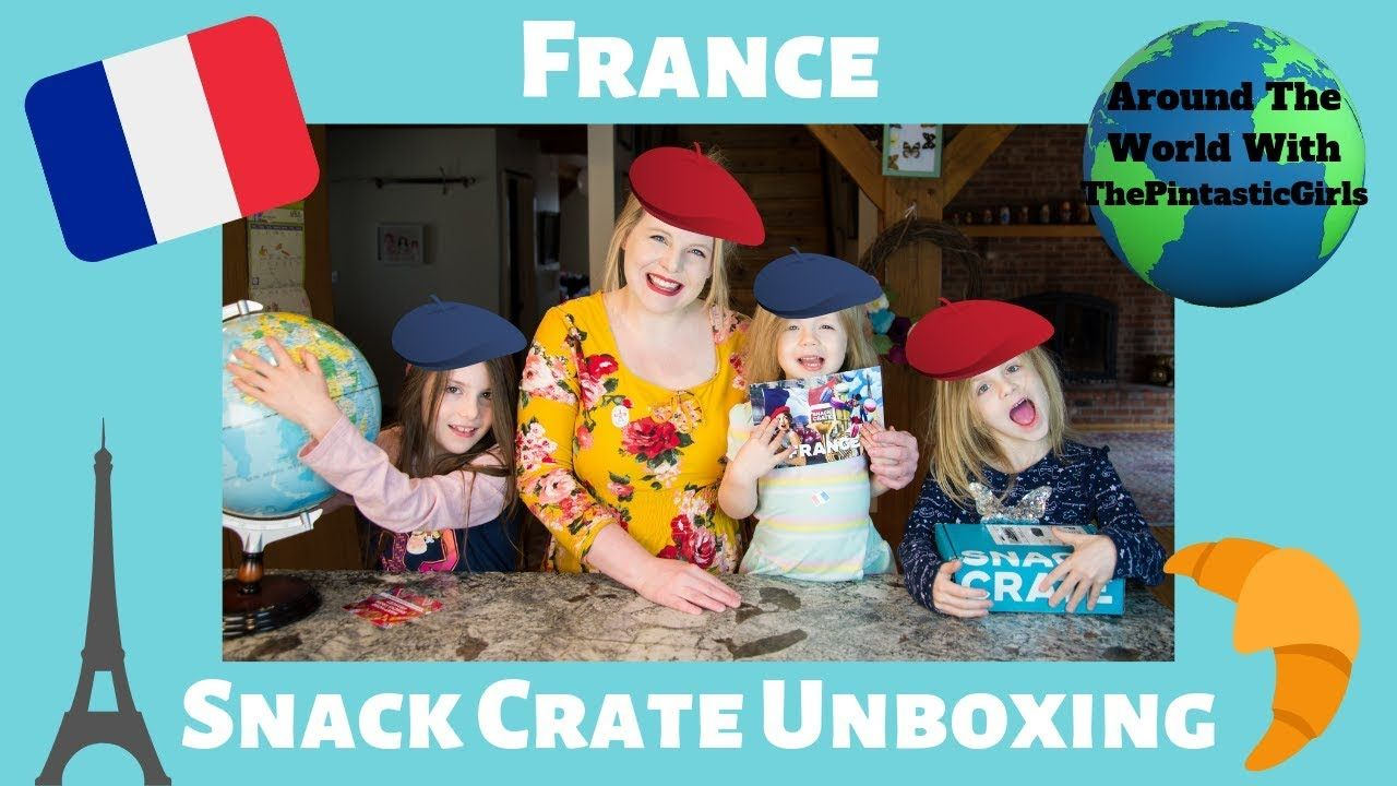 Friends of the show! Snack Crate France American Kids