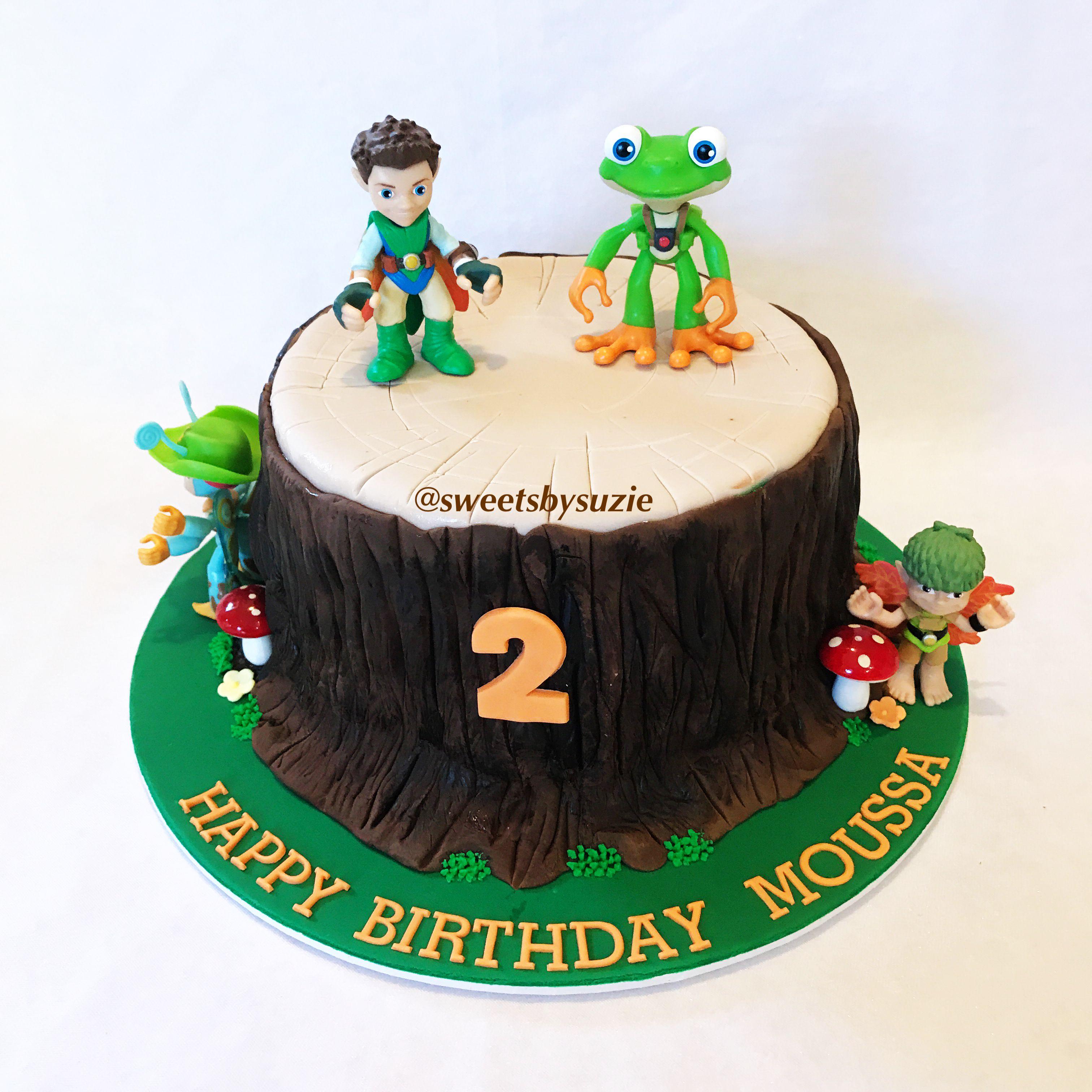 Tree Fu Tom Inspired Birthday Cake Made By Sweetsbysuzie In