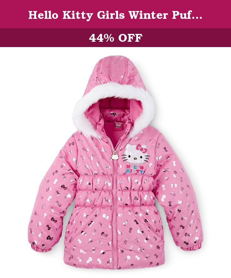 7f3fc5fb3 Hello Kitty Girls Winter Puffer Jacket / Coat-4. Hello Kitty jackets are  made