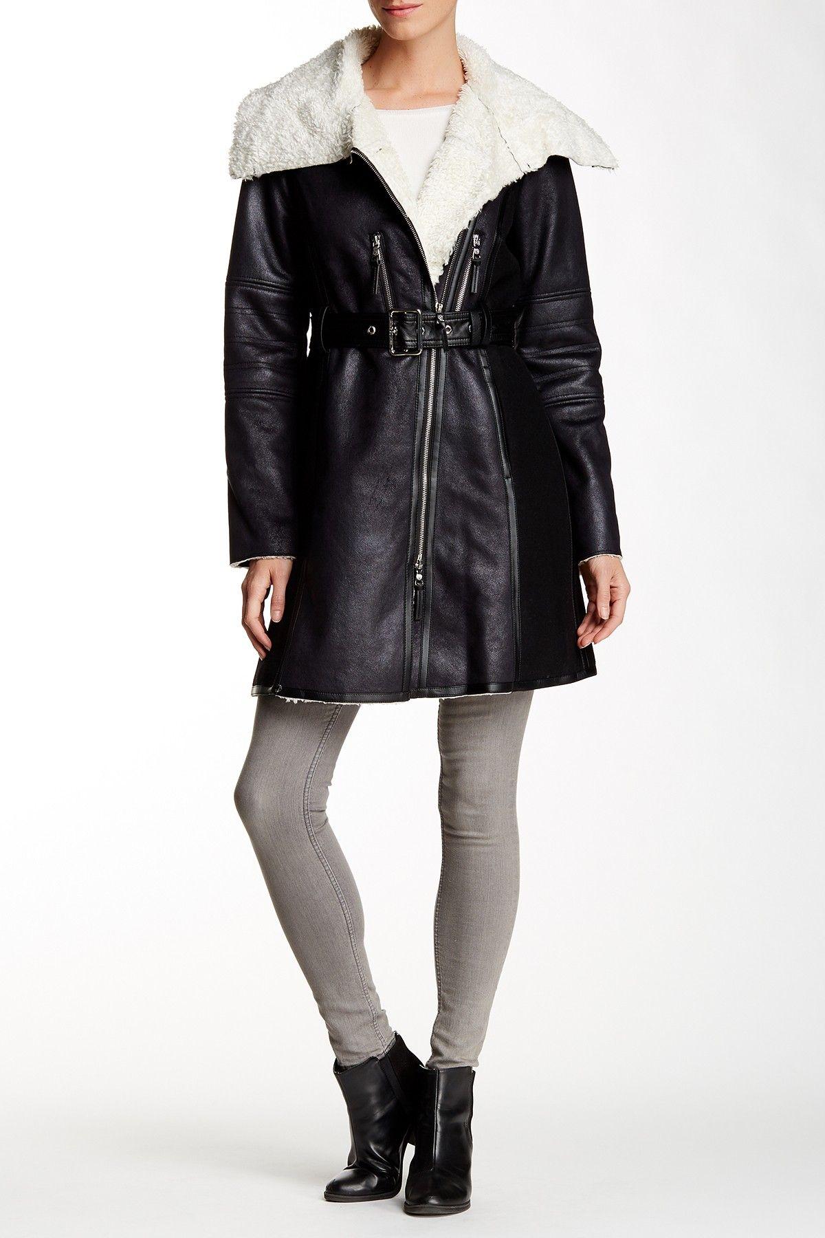 Fleece Asymmetrical Jacket