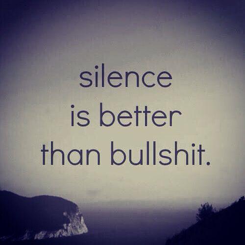 Silence Is Better Than Bull Inspirational Quotes Silence Is Better Top Quotes Inspiration
