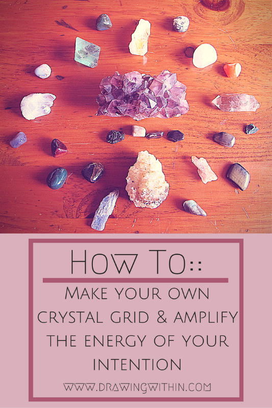Ritualhow to make your own crystal grids pinterest crystals ritual how to make your own crystal grid amplify the energy of your intention sneak peek of my upcoming e book and a free download fandeluxe Images