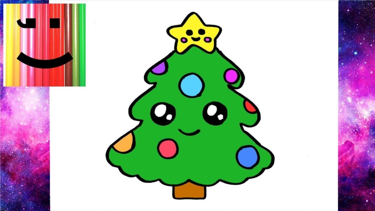 Sapin De Noel Dessin Comment Dessiner Un Sapin De Noel