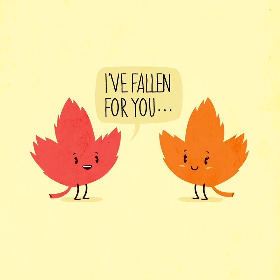 Wallpaper Fall In Love cartoon : :) Sweet Autumn cartoon