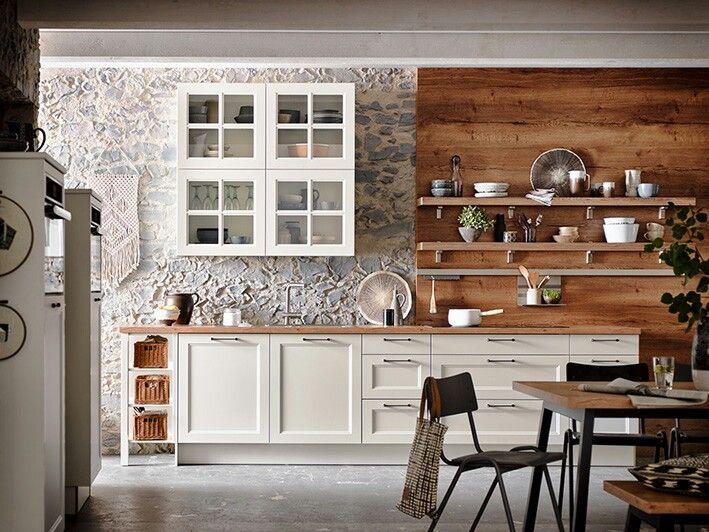MALAGA Weiss #häckerküchen #häcker #küchen #küchenplanung #landhaus  #moderncountry #weisseküche