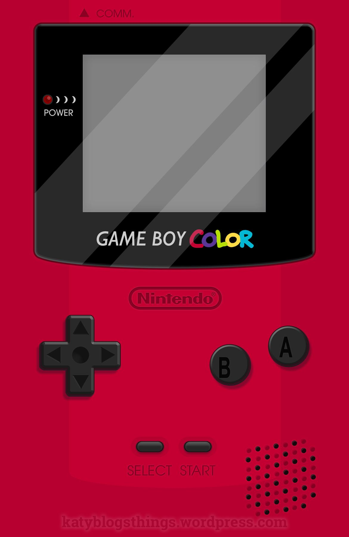 Gameboy Color 2 0 Red Iphone 12 Soft By Katymakesthings Gameboy Yellow Iphone Case Minecraft Banner Designs