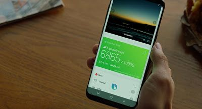 The Galaxy S8 is slightly more powerful than the iPhone 7 (Plus).