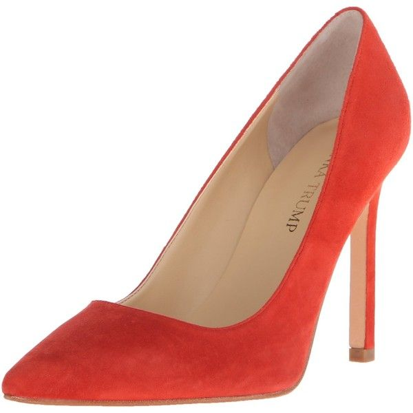 Ivanka Trump Women's Carra Dress Pump ($41) ❤ liked on Polyvore featuring  shoes,