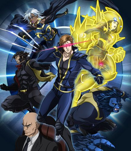 I liked the X-Men anime because Armor was in it a lot. :3
