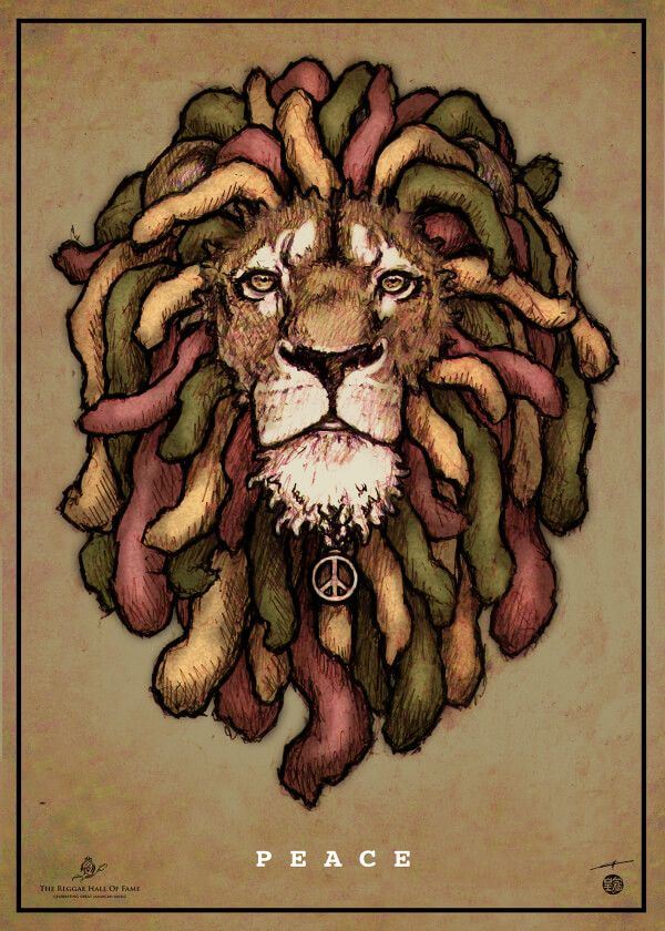 P E A C E Like A Lion France International Reggae