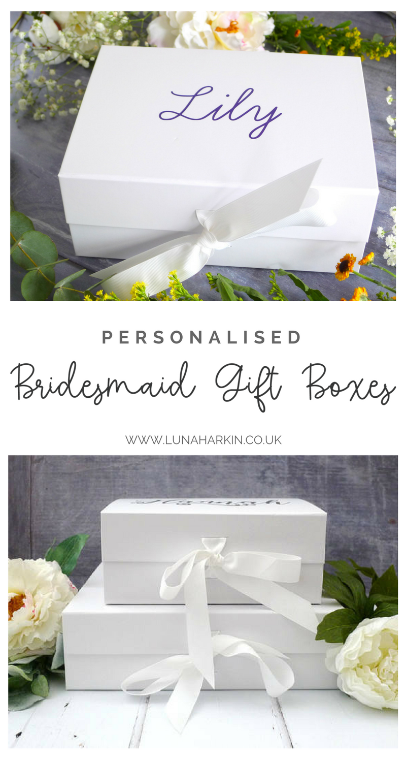 Bridesmaid Box Proposal Gift Box Will You Be My Bridesmaid