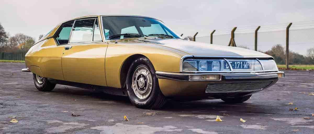 classic car of the week: 1972 citroën sm maserati | citroen