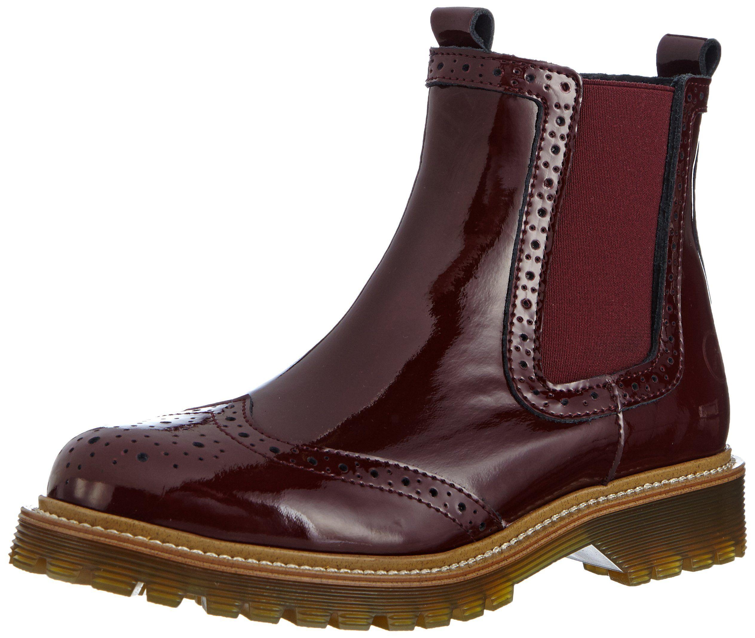 new concept bafba 64edf Bronx Brifka-chunkyX, Damen Chelsea Boots, Rot (bordeaux ...