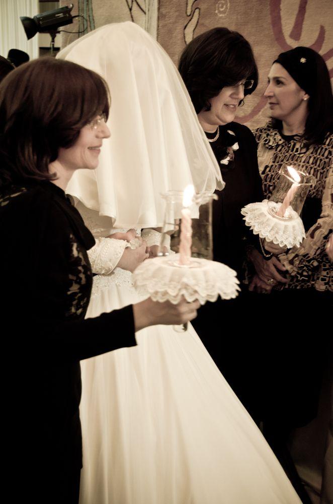 Hasidic wedding dress