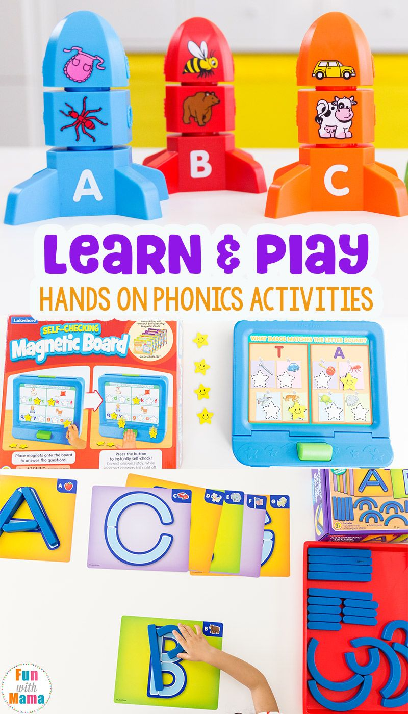 Learning Through Play Phonics Activities Phonics