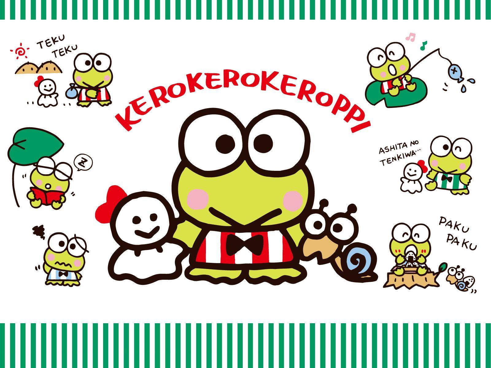 Wallpaper iphone keroppi - Kero Kero Keroppi