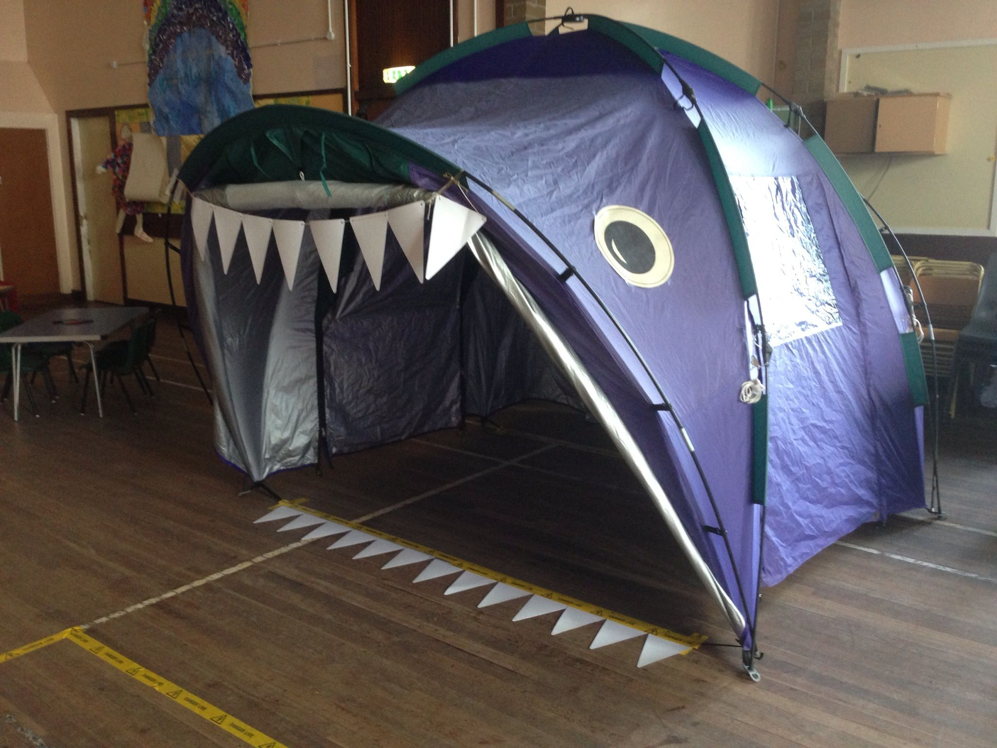 The Tent Becomes A Big Fish For Telling The Story Of Jonah