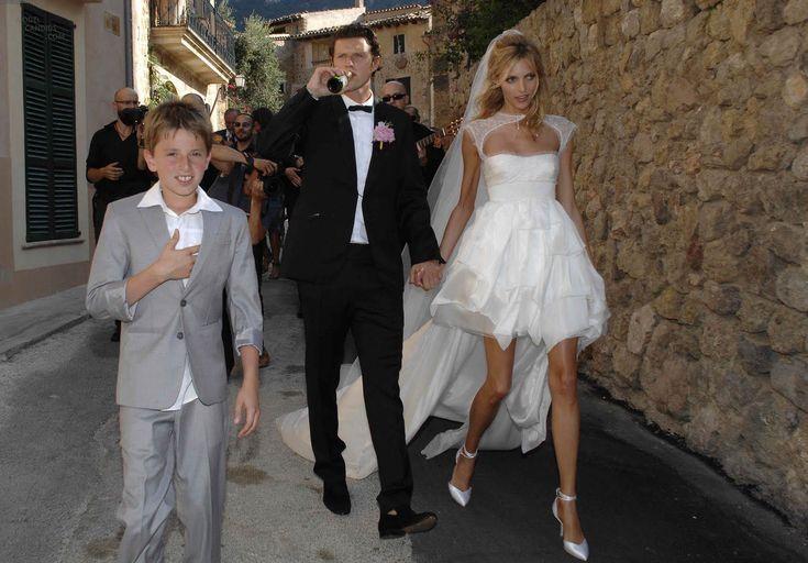 Anja Rubik Wedding