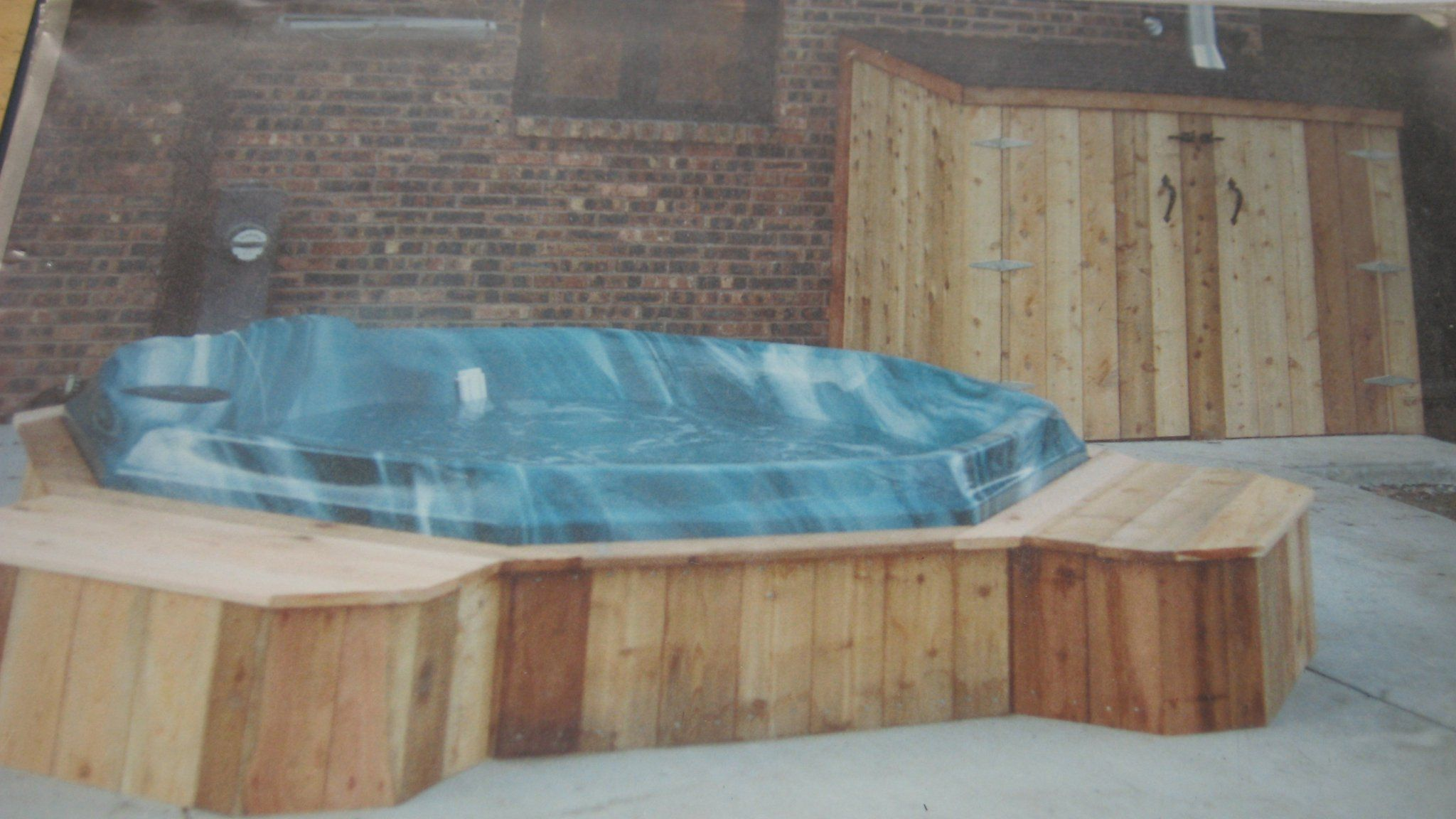 hot tub enclosure | #Decks #northwestindiana | Pinterest | Tub ...