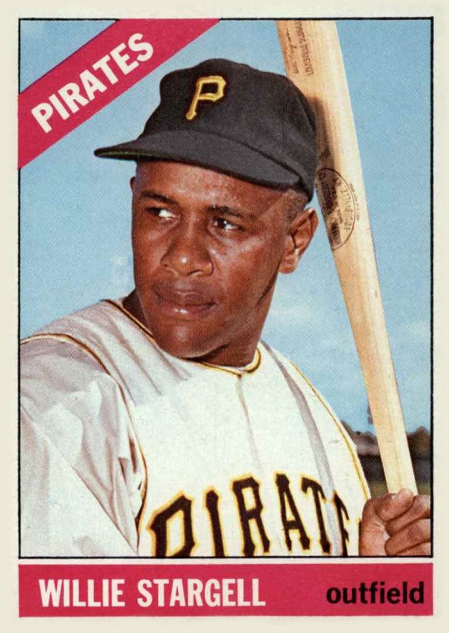 1964 Topps #342 Willie Stargell Pittsburgh Pirates Baseball Card Verzamelkaarten: sport