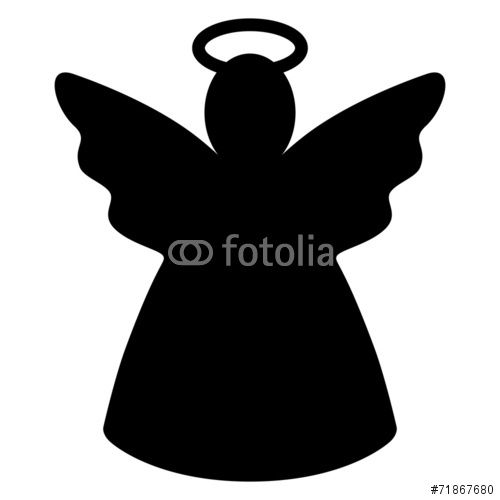 Silueta De Angel Buscar Con Google Silueta De Angel