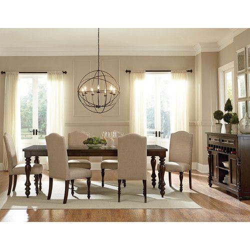 Regalia Formal Dining Room Set Mainline Furniture: Baxton Studio 7 Piece Dining Set