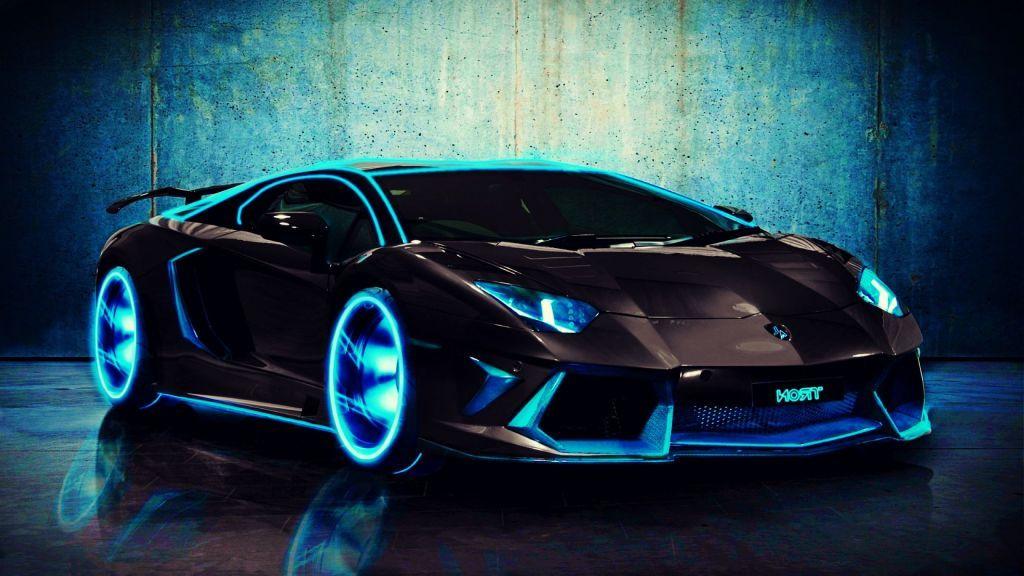 Lamborghini Great Design Hd Blue Water Lambo Car Love