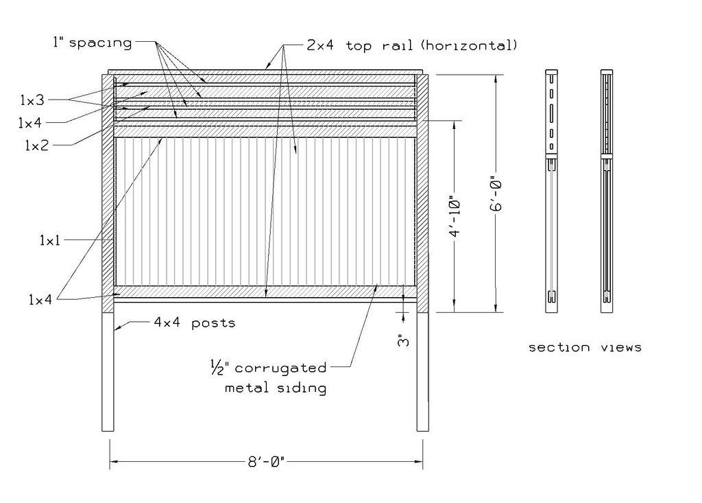 Corrugated Fence Design Thanks For This Savie Corrugated Metal Fence Fence Design Metal Fence