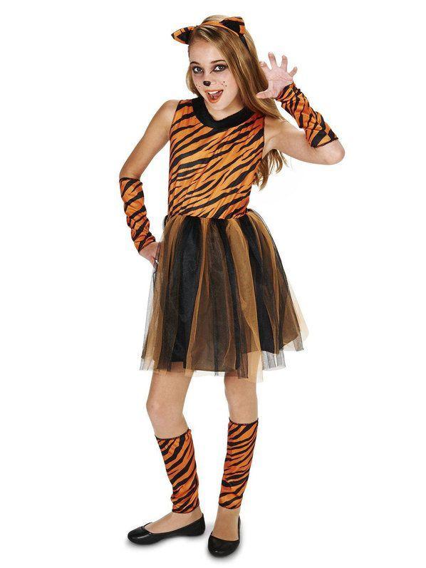 Cool Cat Tigeress Tween Costume | Tween costumes, Cool ...