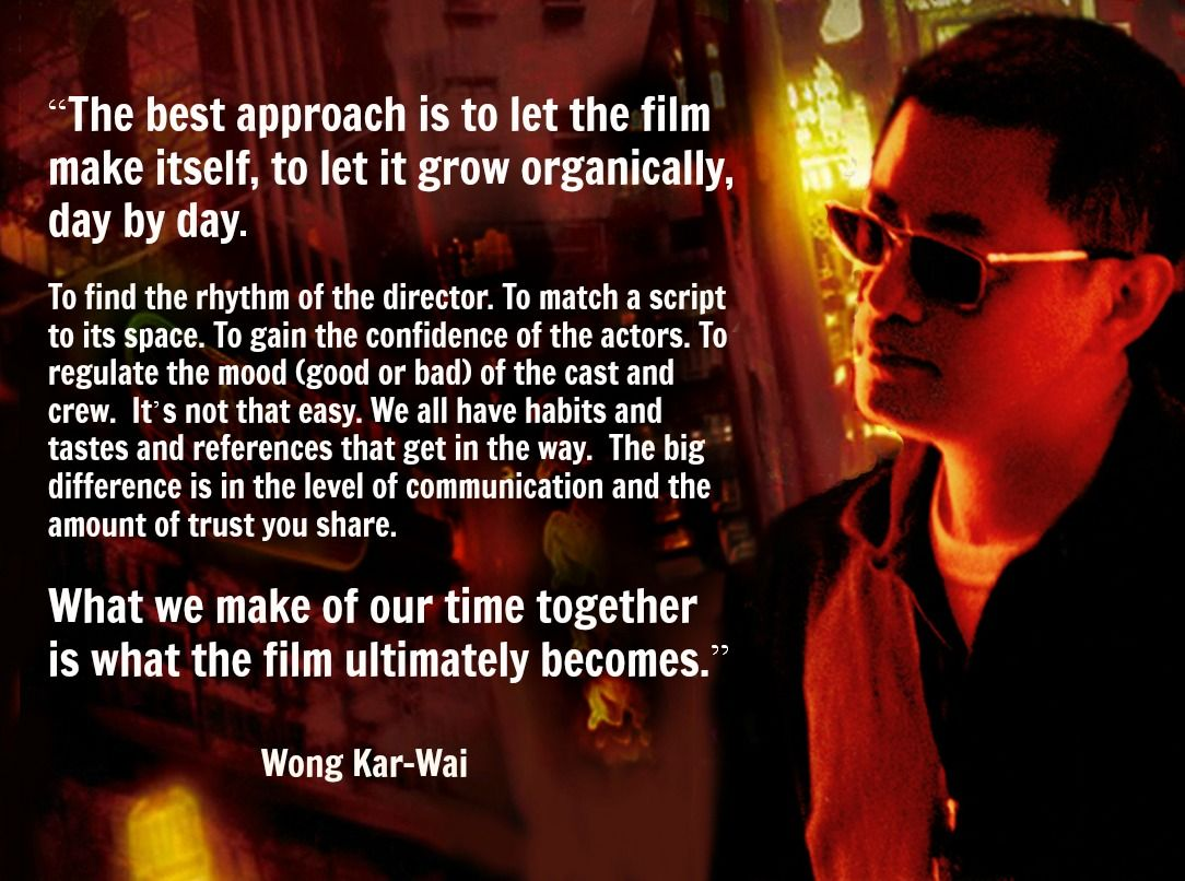 Wong kar wai film director quote movie director quote wong kar wai film director quote movie director quote wongkarwai fandeluxe Images