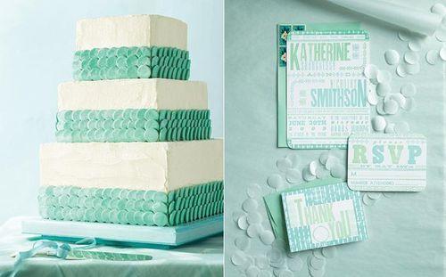 Cake + invitations!