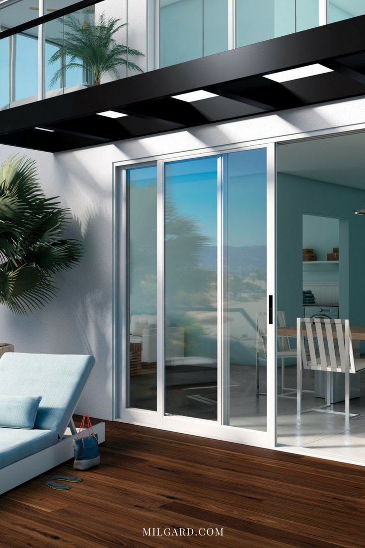Beautifully Designed Patio Doors Featuring Stacking Glass Wall