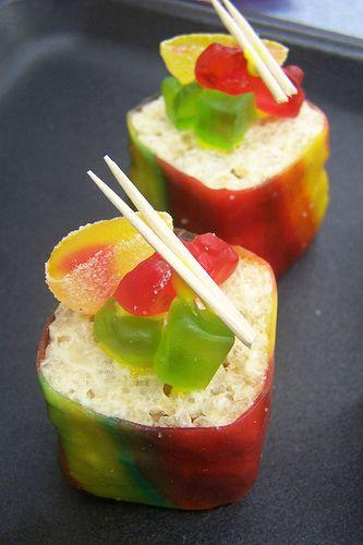 Candy Sushi Rolls #candysushi