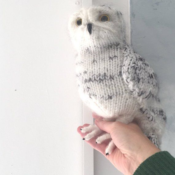 Photo of SPECIAL OFFER Knitting Pattern – Snowy Owl